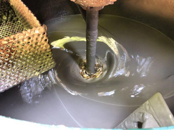 セメントミルクが硬い場合の対処方(その1)
